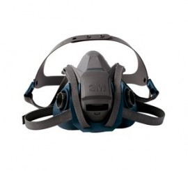 3M 6501QL Quick Latch Half Face Mask - Small (Pack of 10)