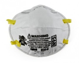 3M 8210 Particulate Respirator (8 packs of 20)