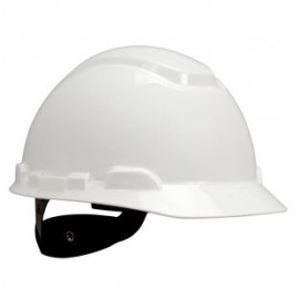3M H-701R-UV White Hard Hat with UVicator (Pack of 20)