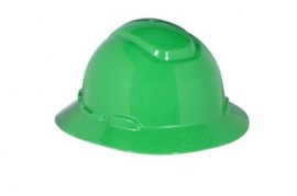 3M H-804R Green Hard Hat (Pack of 10)