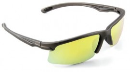 3M SS1330AS-G Safety Sunwear with Yellow Mirror Lenses (Pack of 10)