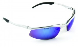 3M SS1428AS-S Safety Sunwear with Blue Mirror Lenses (Pack of 10)
