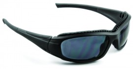 3M SS1502AF-B Safety Sunwear with Black Frame and Gray Lenses (Pack of 10)