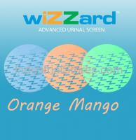 Air-Scent WUS50-OR Wizzard Urinal Screen - 50/Pack (Orange-Mango) (Qty of 5)