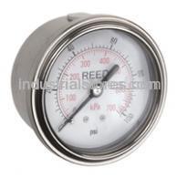 """REED AHNC-3000P 2.5"""" Pressure Gauge (3000 psi 21000kPa)"""