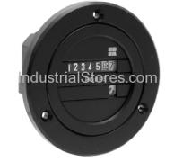 Redington 711-0162 AC Electro-Mechanical Hour Meter 230V Blackbird Round
