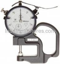 Mitutoyo 7305 Thickness Gauge Dial Flat Standard 0-20Mm