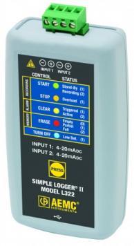 AEMC 2126.06 L322 Datalogger Current Dc 4-20Ma