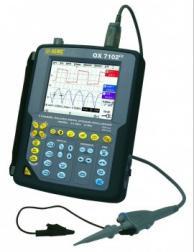"AEMC 2124.58 Ox7102"" 100Mhz 100Mhz Handheld Oscillos Cope 2-Channel"