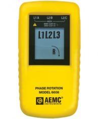 AEMC 2121.1 6608 Phase Rotation Meter 15 To 400Hz