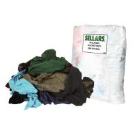 Sellars 99301 Reclaimed Rags Multi-Color Knit Polo 5lb