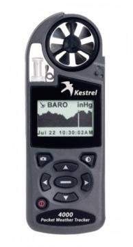 Kestrel 0840BGRY Series 4000 Pocket Weather Tracker with Density Altitude & Bluetooth