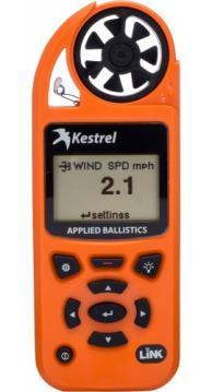 Kestrel Elite Weather Meter with Applied Ballistics with LiNK, Blazed Orange