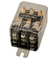 Mars 43067 Enclosed Switching Relay 3PDT 120V Plug-In