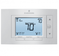 White-Rodgers 1F83C-11NP Non-Programmable Thermostat 1 Heat-1 Cool