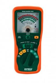 Extech 380320 Analog High Voltage Megohmmeter, 250V/500V/1000V