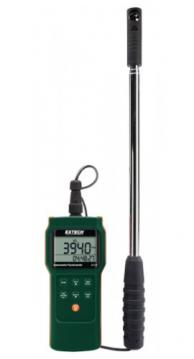 Extech AN340-NIST Mini Vane Anemometer/Psychrometer/Logger with NIST Traceable Certificate, CMM/CFM