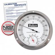 Baker B6020 Dial Thermo-Hygrometer with NIST Traceable Certificate