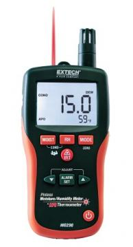 Extech MO295 Pinless Moisture Meter with Memory Plus IR Thermometer