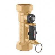 "Caleffi 132662A Balancing Valve with Flowmeter 1"" NPT 3.0-10.0 GPM Flow Scale"