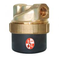 "Bell & Gossett 6055B2002 ecocirc Lead Free Brass Solar Circulator 1/2"" Union Sweat"