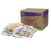 Sellars 99213 Multicolored Reclaimed Turkish Towel Rags (25lb box)