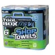 Sellars 54416 TOOLBOX Z400 Blue Shop Towel 6PK (4/Case)