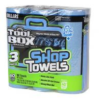 Sellars 54483 TOOLBOX Z400 Blue Shop Towel 3PK (8/Case)