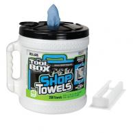 Sellars 55208 TOOLBOX Z400 Big Grip Bucket Blue Rags 200CT (2/Case)
