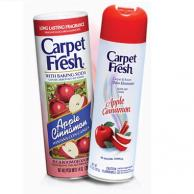 Carpet Fresh 280174 10Oz Quick-Dry Foam Apple Cinnamon (6 can per case) [30 Cases]