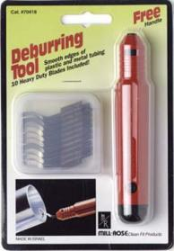 Clean-Fit 70415 Mill Rose Deburring Tool with 3-Blades