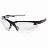 Edge DZ111AR-G2 Zorge Safetly Glasses Black with Clear Lens
