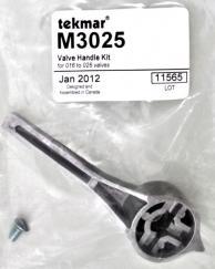 Tekmar M3025 Valve Handle & Retaining Screw