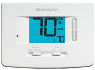 Braeburn 1020NC Non-Programmable Thermostat