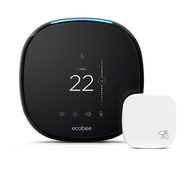 Ecobee EB-STATE4P-01 4Pro Alexa Voice 7-Day Smart Thermostat WiFi with Sensor 2-Heat/2-Cool