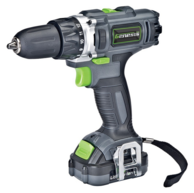 Genesis GLCD122P Cordless 12-Volt Lithium-Ion 2-Speed Drill/Impact Driver