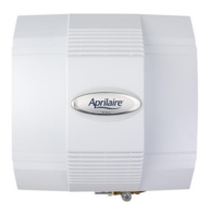 Aprilaire 700M Humidifier Manual-Bypass