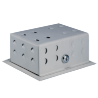 "Beko BTG-54VL Beige Metal Thermostat Guard 6-1/4"" x 4-3/4"" x 3"""