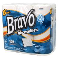 Sellars 18346 Bravo Necessities 2-Ply Paper Towel 6-Pack (Case of 4)