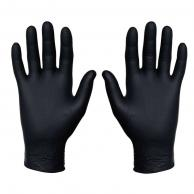 Sysco SYS4685594 Nitrile Food Service Gloves Black ( 100/Pack )
